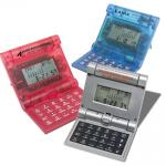 Self Folding Calculator, calculators, Conference Items